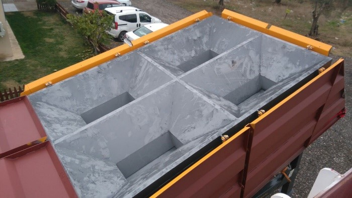 Folding Type aggregate Bunker
