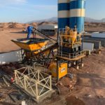 Turbomix-100 Mobile Concrete Batching Sur/Oman